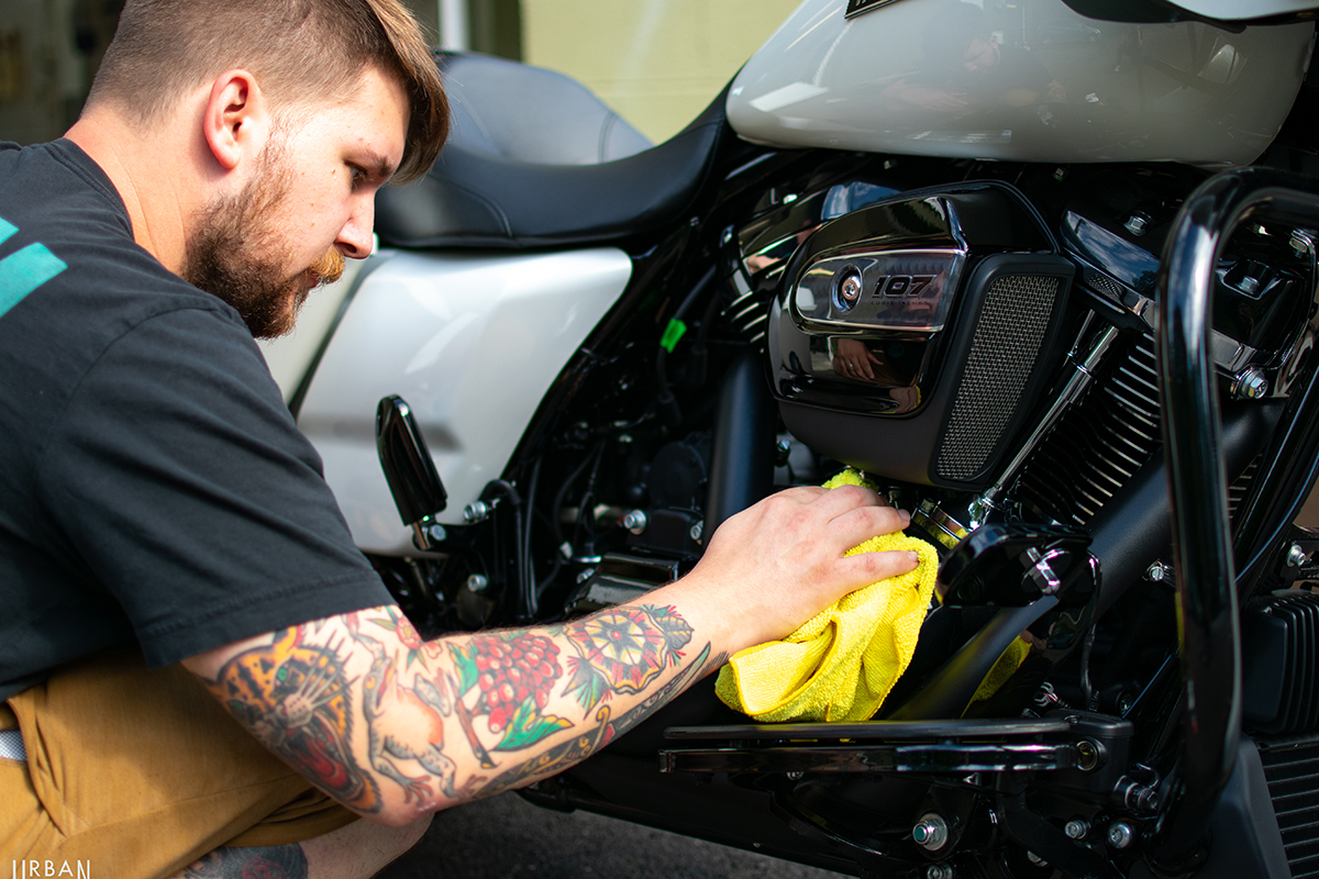 Motorcycle Detail Service